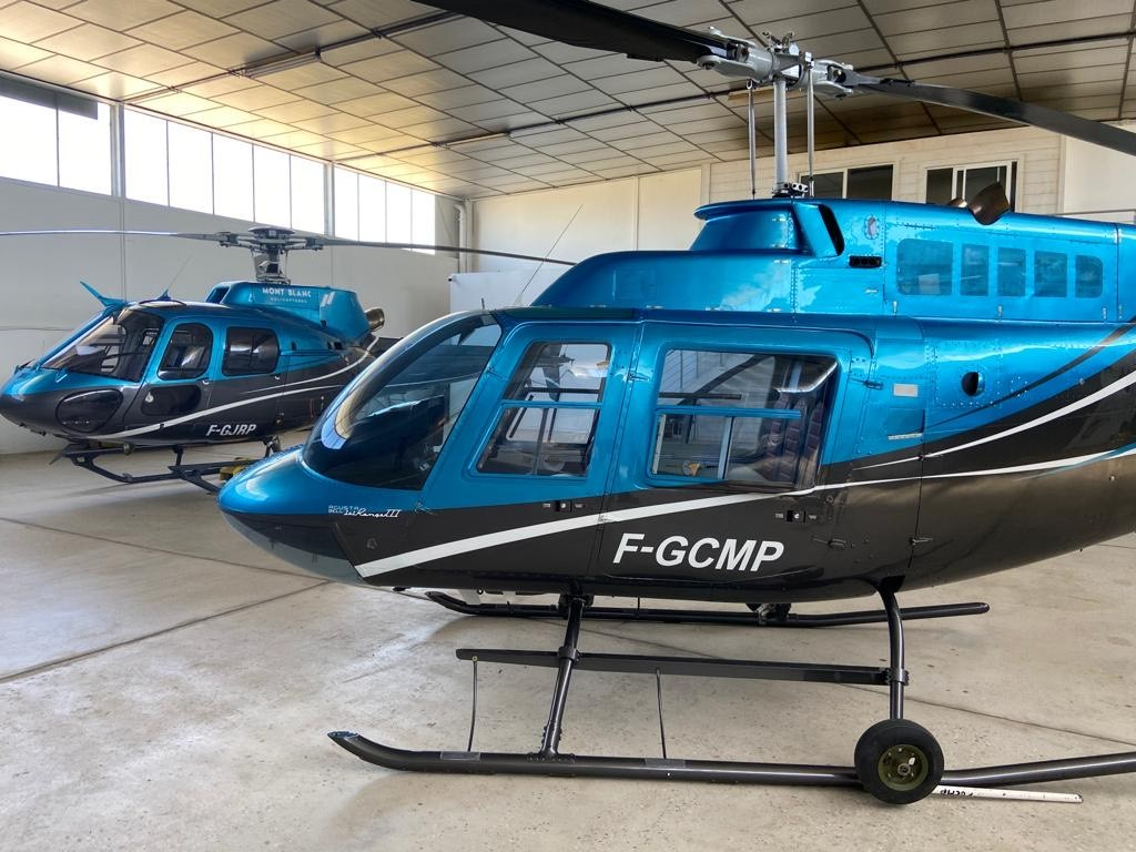 Helicopters - Bell 206 - Mont Blanc Hélicoptère Lyon