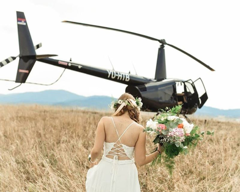 Experience Flights - Weddings  - Mont Blanc Hélicoptère Lyon