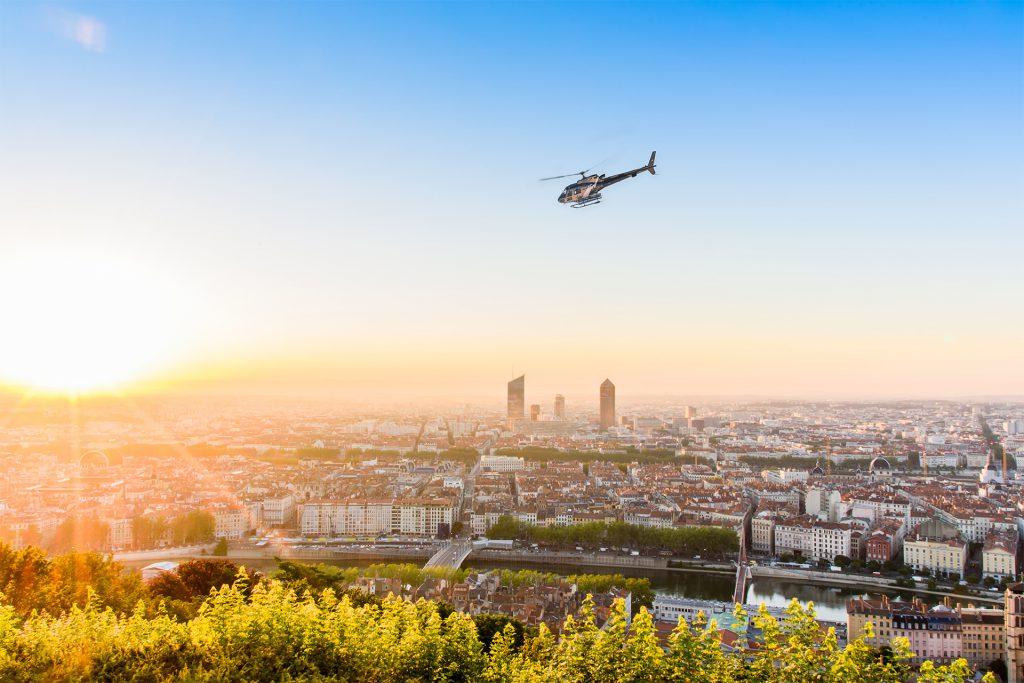 Initiation flights - Bell 206 - Mont Blanc Hélicoptère Lyon